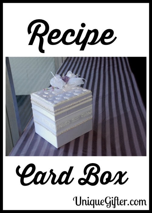 Recipe Card Box