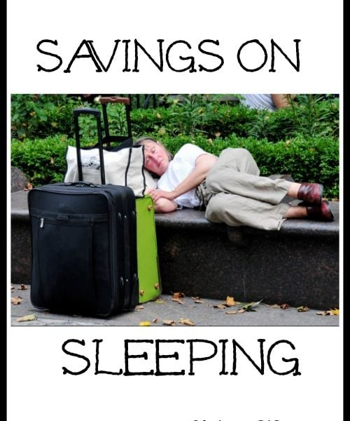 Savings on Sleeping