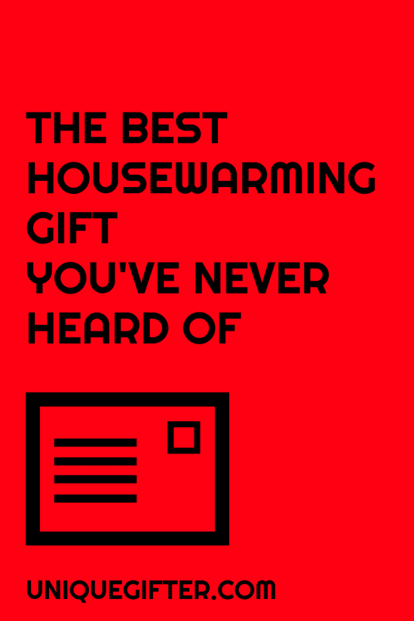 The Best Housewarming Gift You've Never Heard Of Before