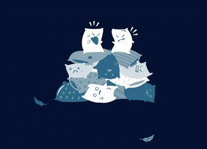 Threadless - Pillow Fight