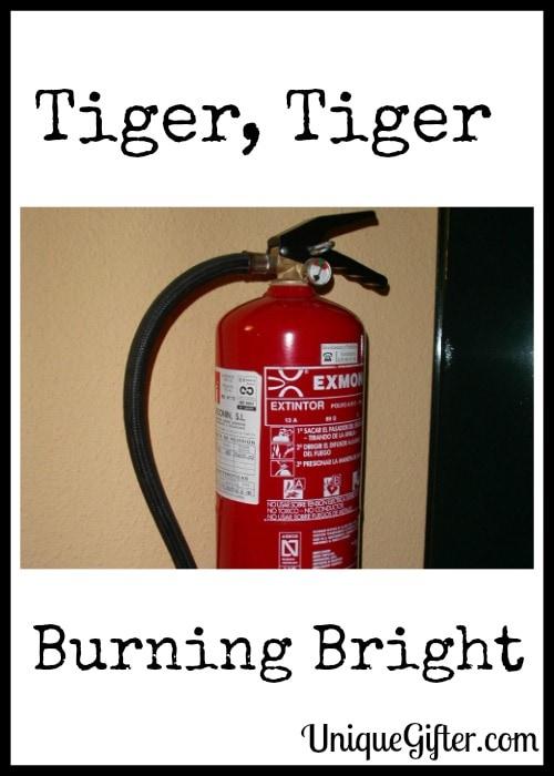 Tiger, Tiger Burning Bright