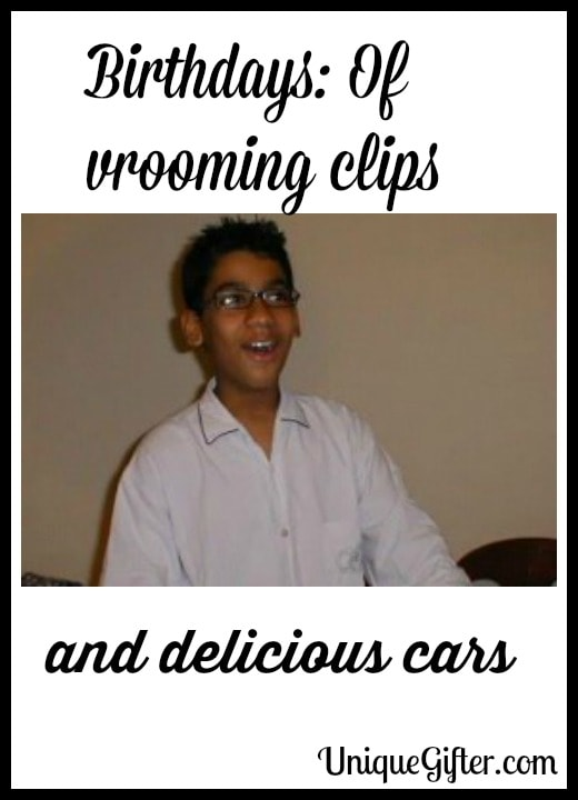 Birthdays Of vrooming clips and delicious cars