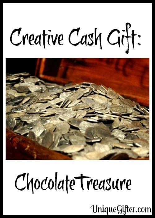 Creative Cash Gift: ChocolateTreasure