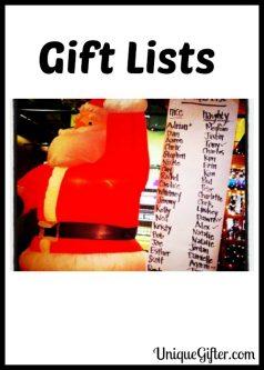 Gift Lists