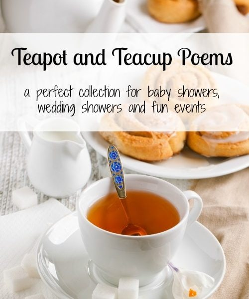 Teapot and Teacup Poems