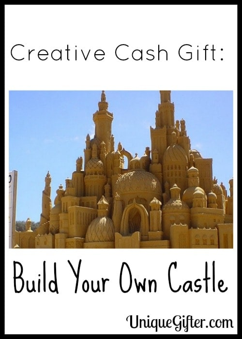 Creative Cash Gift Build Your Own Castle