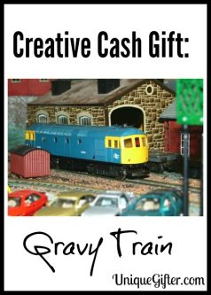 Creative Cash Gift: Gravy Train