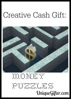 Creative Cash Gift: Money Puzzles