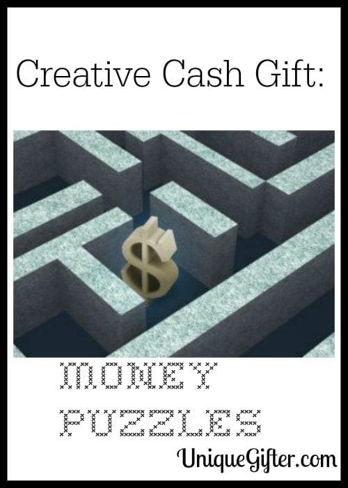 Creative Cash Gift: Money Puzzles