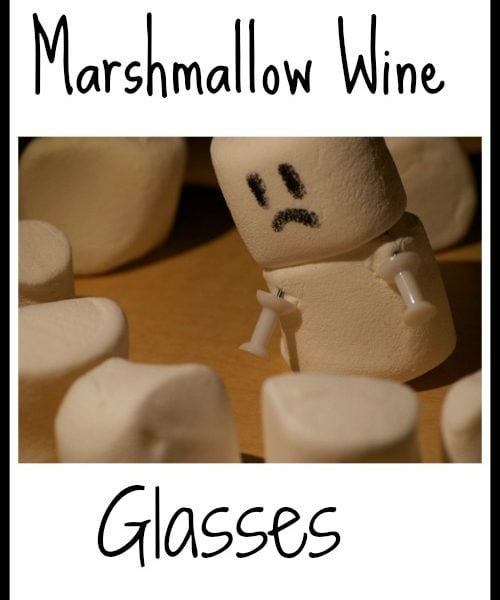 Marshmallow Wine Glasses