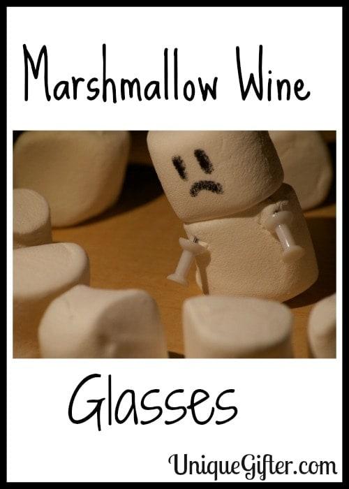 Marshmallow Wine Glasses