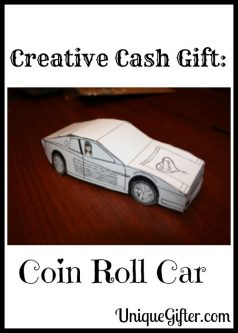 Creative Cash Gift: Coin Roll Car