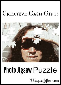 Creative Cash Gift: Photo Jigsaw Puzzle