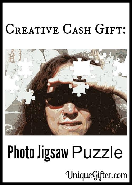 Creative Cash Gift Photo Jigsaw Puzzle