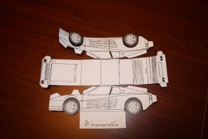 Printable Race Car Cash Gift