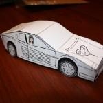 Coin Roll Car Cash Gift Idea