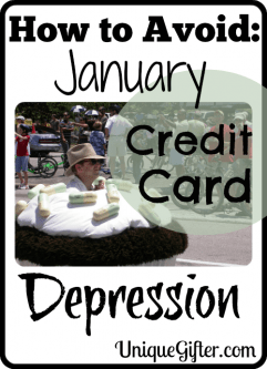How to Avoid January Credit Card Depression