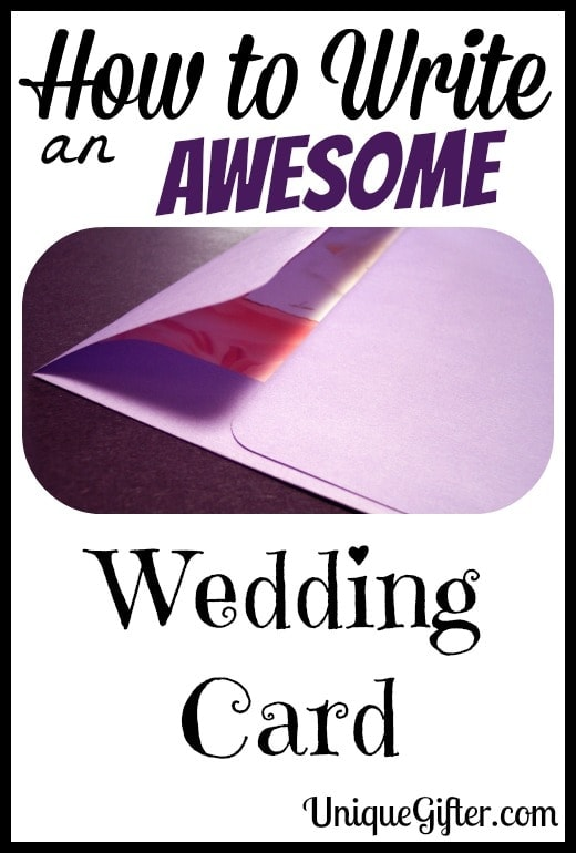 How to Write an Awesome Wedding Card2