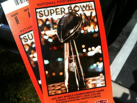 CC Attribution Share Alike - planetc1 - Super Bowl Tickets