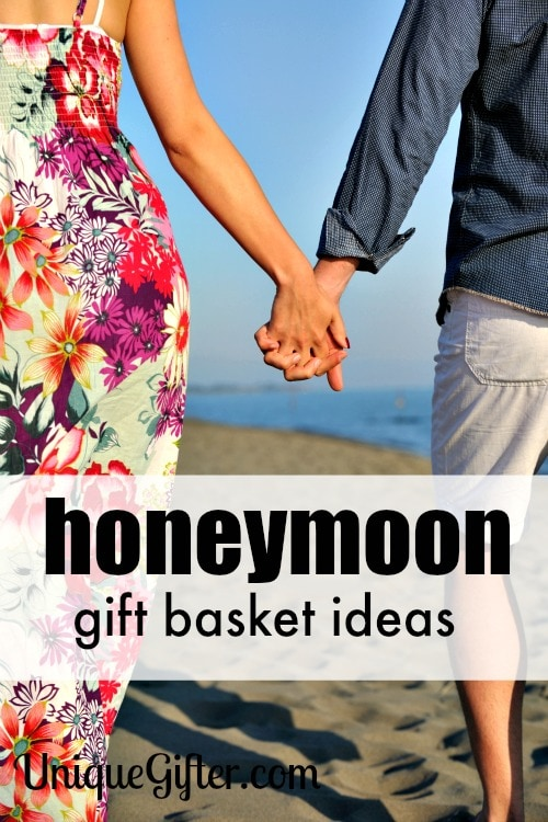 Honeymoon gift basket ideas unique gifter honeymoon gift basket ideas sciox Choice Image