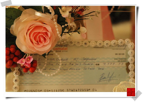 Cheque Mate: Wedding Check Writing Tips
