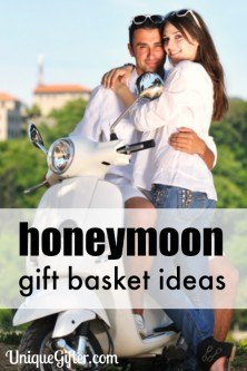 I hope someone gets me a honeymoon gift basket - I'll have to hint to my MOH.