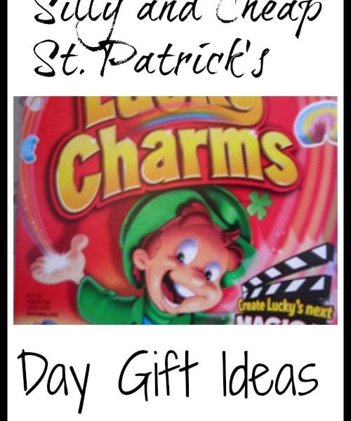 Silly and Cheap St. Patrick's Day Gift Ideas