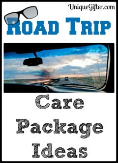 Road Trip Care Package Ideas