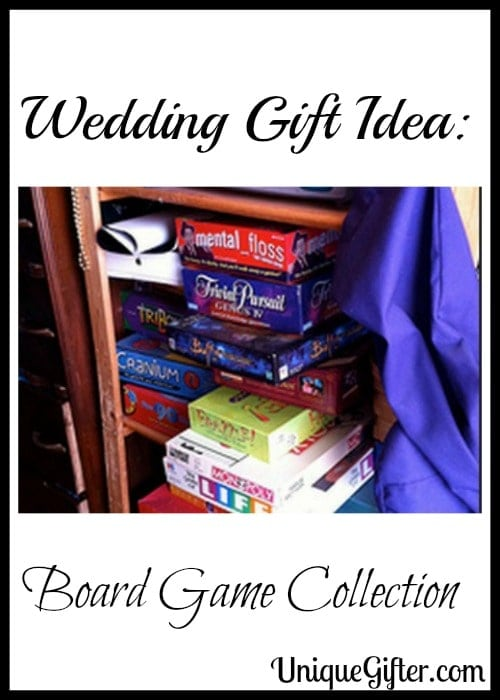 Wedding Gift Idea Board Game Collection