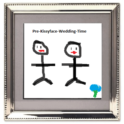 Fake Wedding Picture