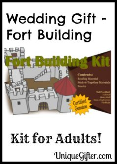Wedding Gift – Fort Building Kit for Adults!