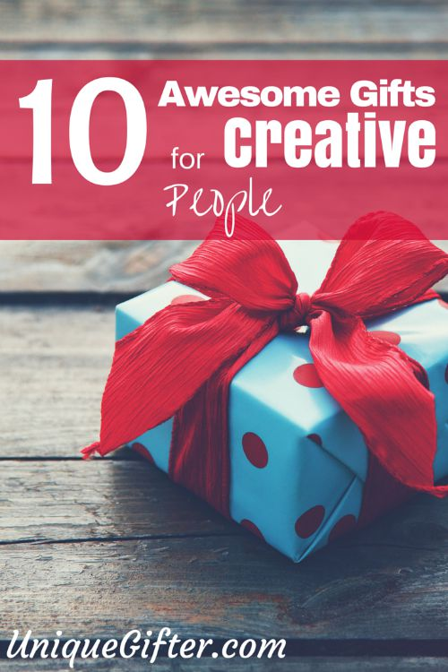 10 Gifts For Creative People