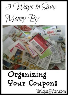 3 Ways to Save Money By Organizing Your Coupons
