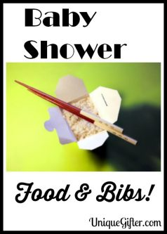 Baby Shower Food & Bibs!