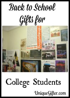 Back to School Gifts for College Students
