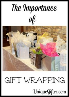The Importance of Gift Wrapping
