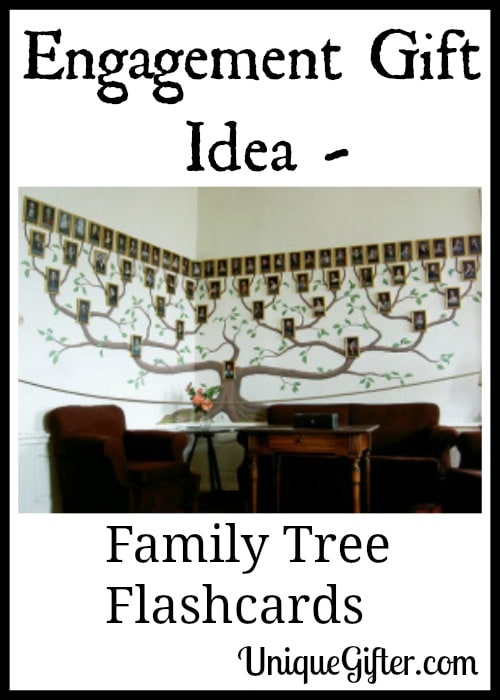 Engagement Gift Idea - Family Tree Flashcards
