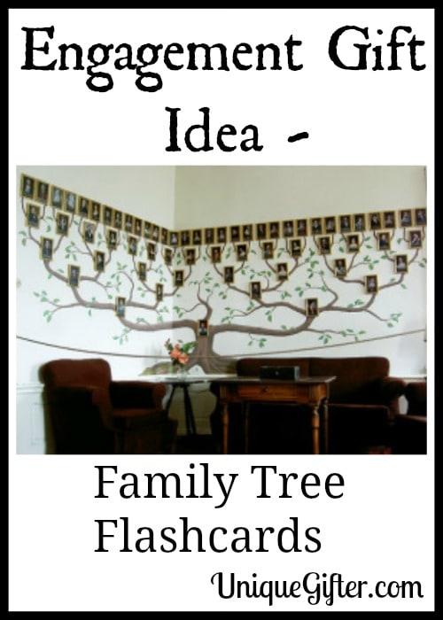 Engagement Gift Idea - Family Tree Flashcards