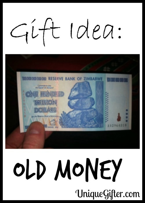 Gift Idea: Old Money