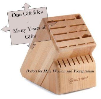 Knife Block Gift Idea