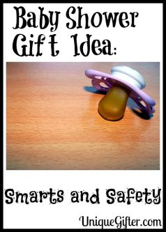Baby Shower Gift Idea Smarts and Safety