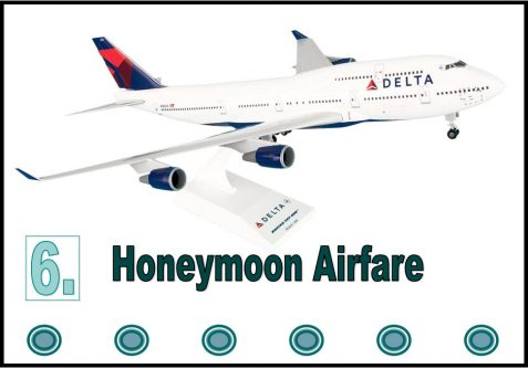 Honeymoon Airfare