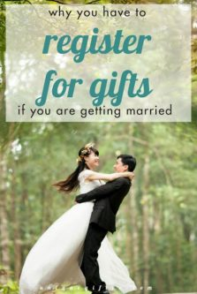 Why You Have To Register For Gifts If You Are Getting Married