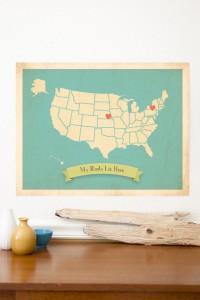 ChildrenInspire etsy shop heart map