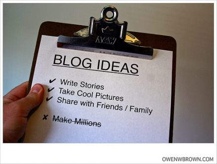 Some Thoughts on Blogging