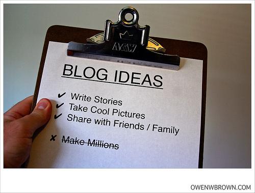 blog clipboard