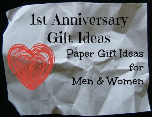 First year anniversary gift ideas unique gifter for Traditional 1st anniversary gifts for her