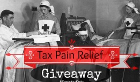 Tax Pain Relief Giveaway