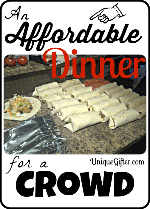 Affordable Dinner for a Crowd