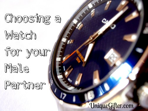 Choosing a watch for your male partner